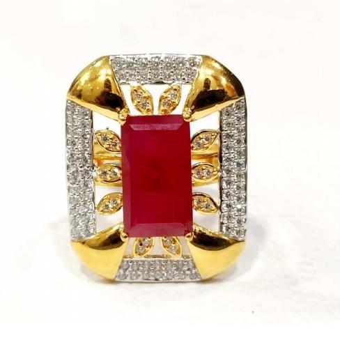 22 k Gold Fancy Cocktail Ring. NJ-R0996