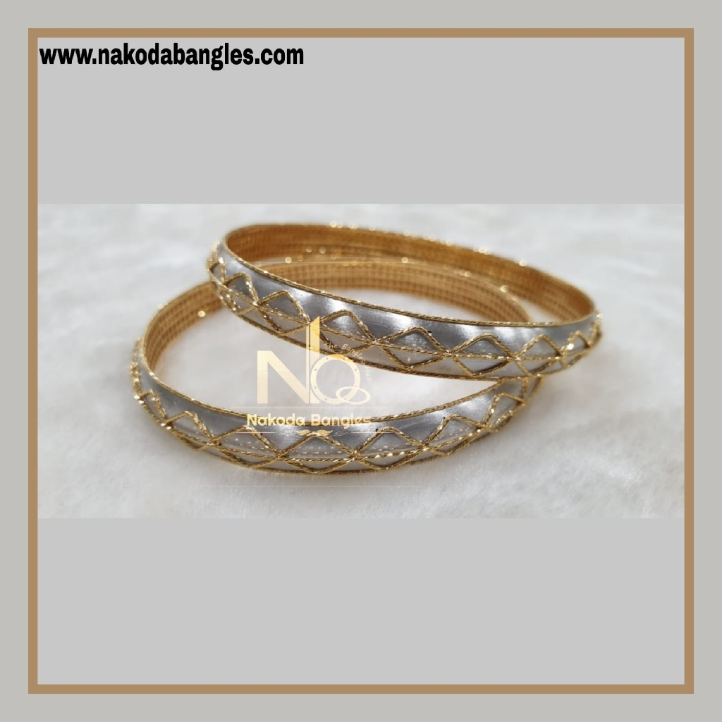 916 Gold Italian Bangles NB - 864