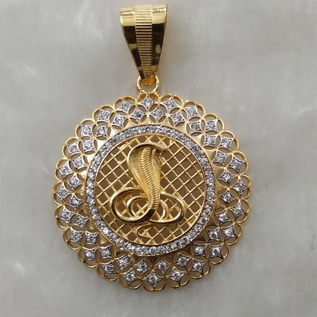 Goga maharaj gold pendant