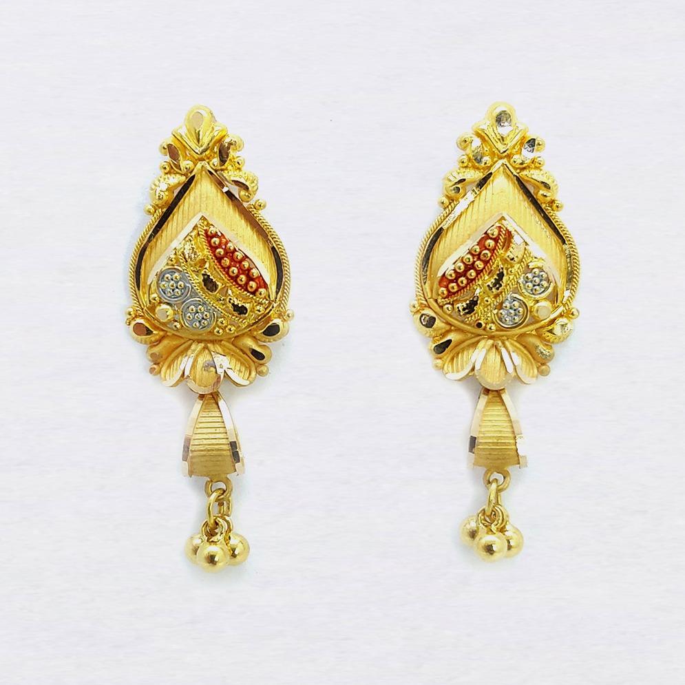 916 gold designer lakan buti with ghughari sk-e027