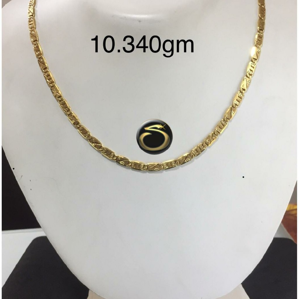 22Kt Gold Fancy hollow Chain SC-NG6156