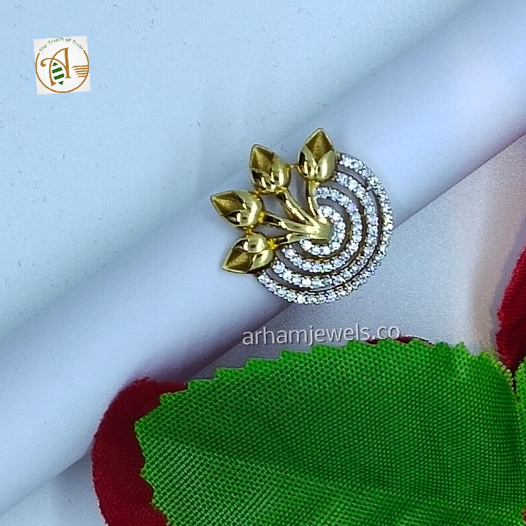 916 gold designer ring RGG0115