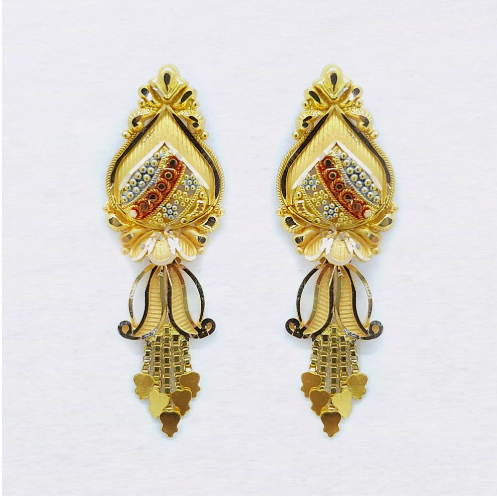 22KT Traditional Gold Latkan For Ladies SK-E023