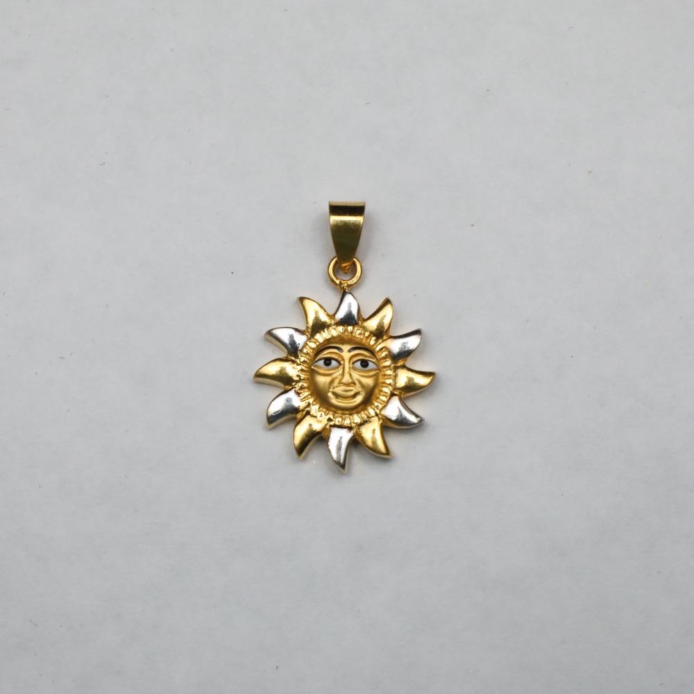 916 gold Surya Pendant ML-P006
