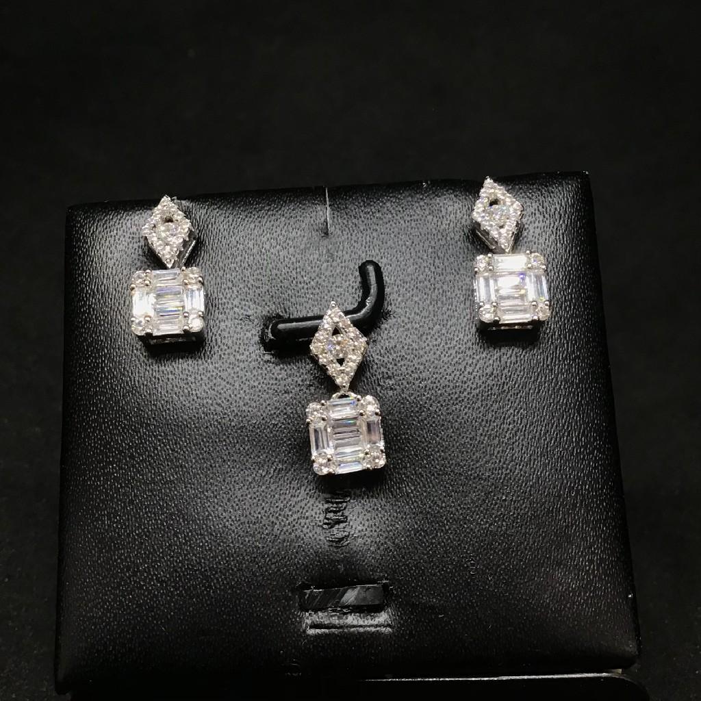925 fancy pendant set