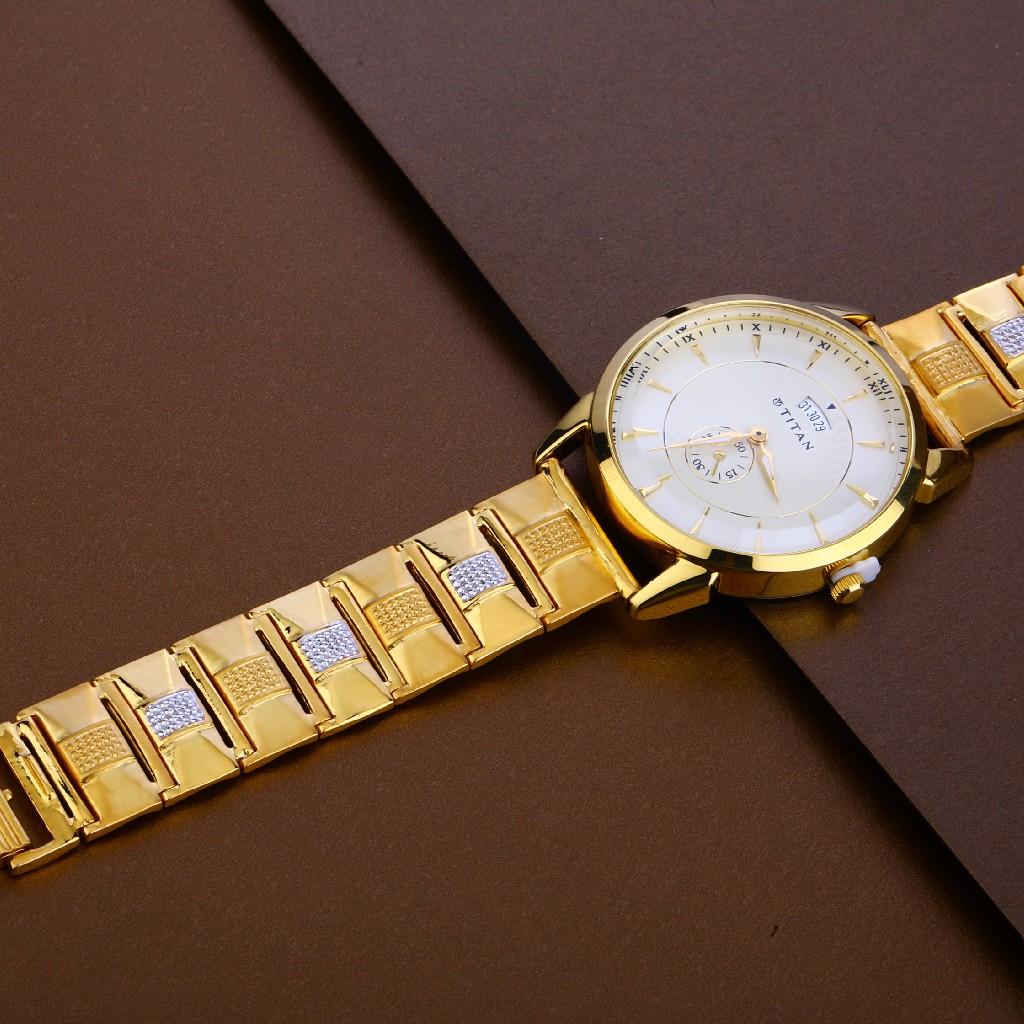 22kt Gold Hallmark Exclusive Mens Watch MW13