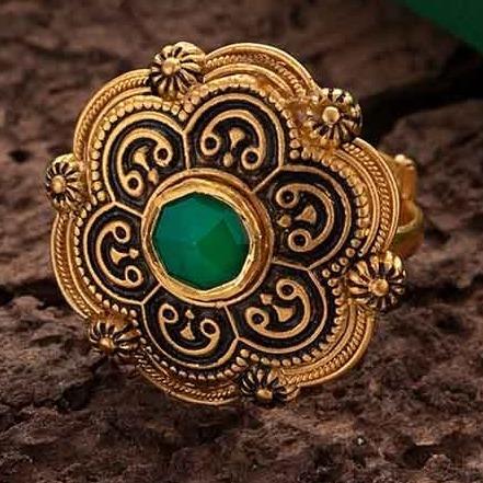 antique ring 916