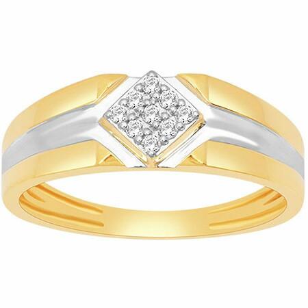 18k gold real diamond ring mga - rdr0036
