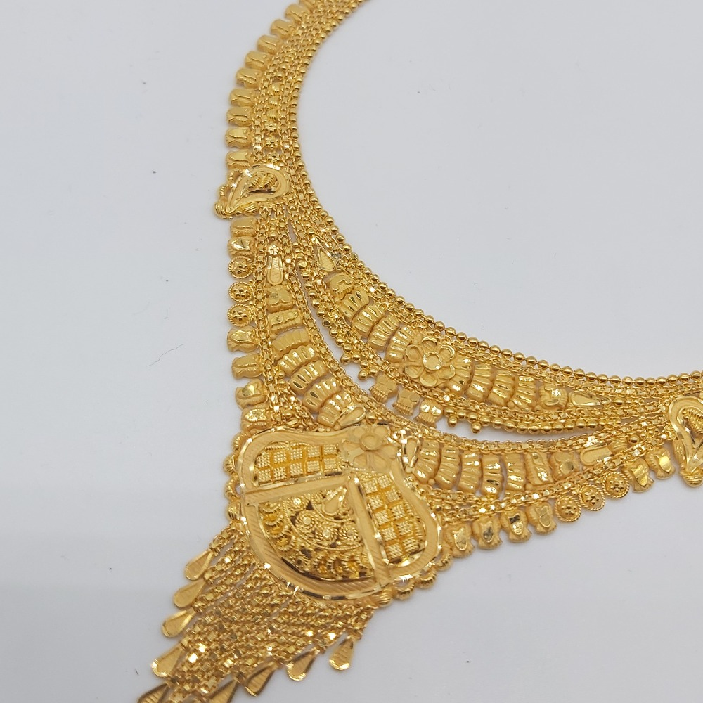 Indian Traditional Gold Necklace set