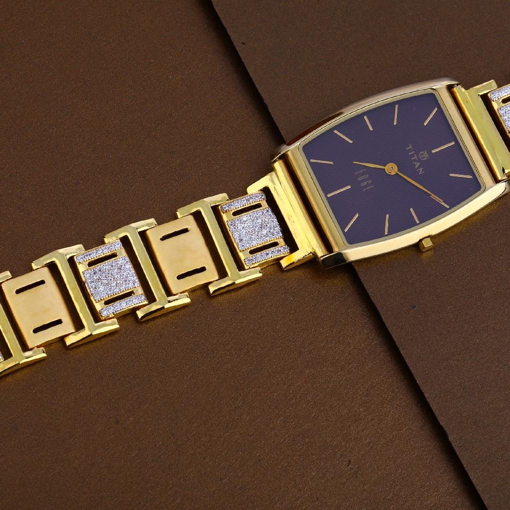 916 Gold Mens Designer Hallmark Watch MW21