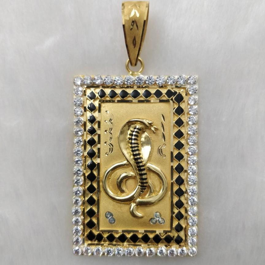 916 Gold Goga Maharaj Pendant