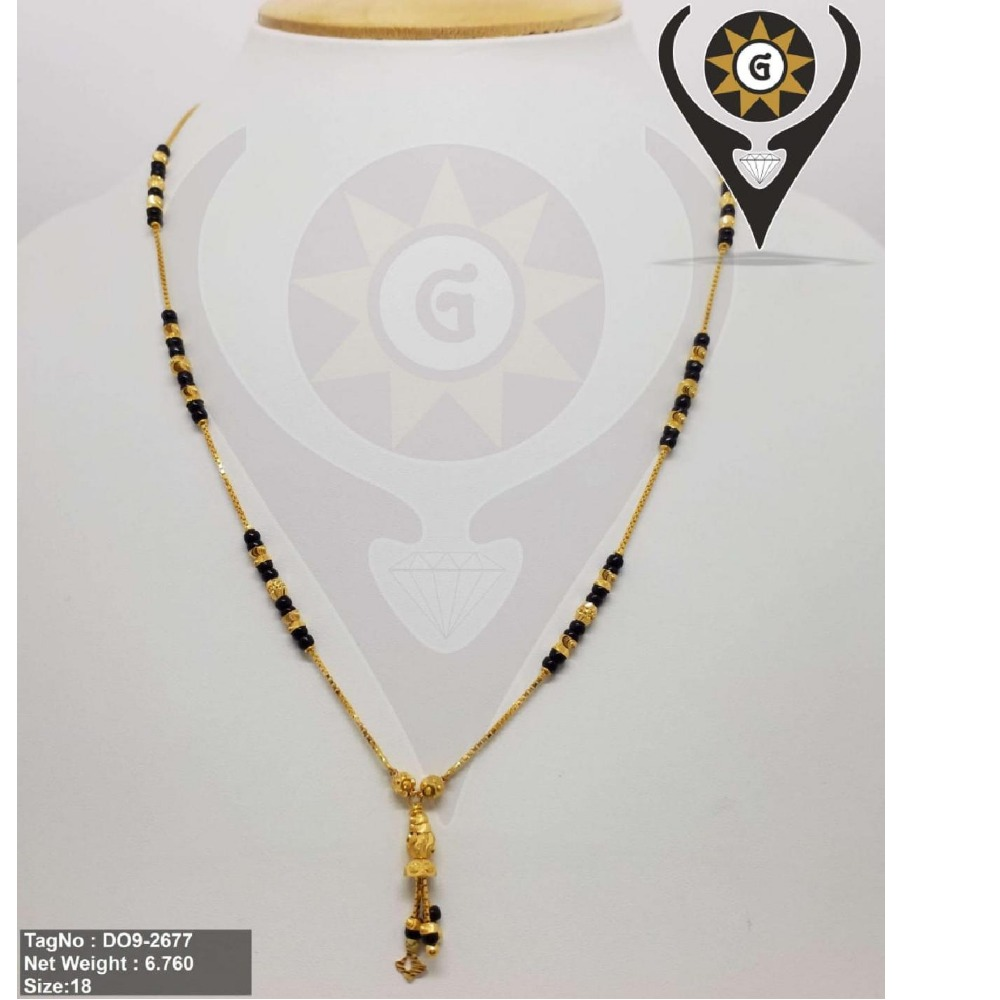 22KT Gold Daily Wear chain