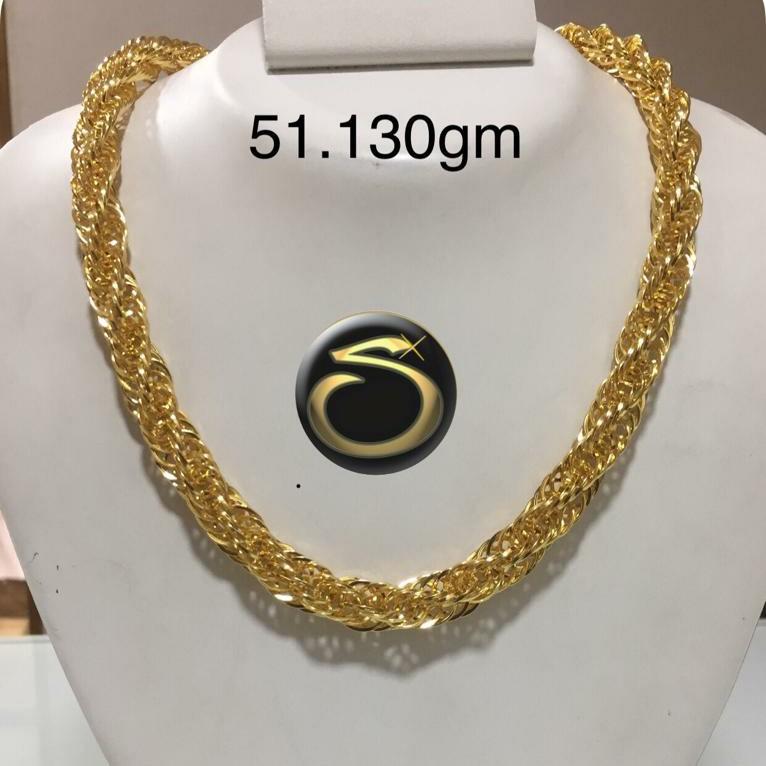 22KT gold Indo italian Chain SC-GB6286