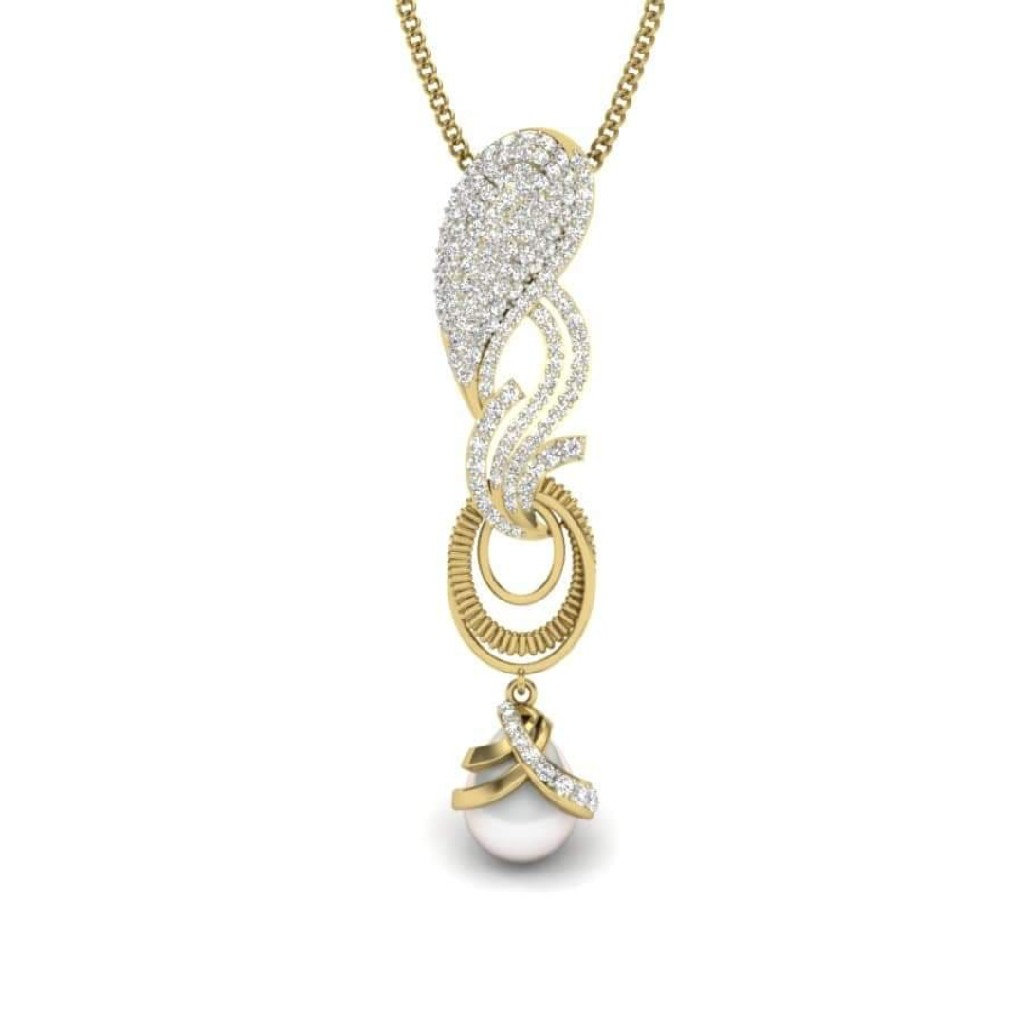 18k gold fancy pendant VP8277