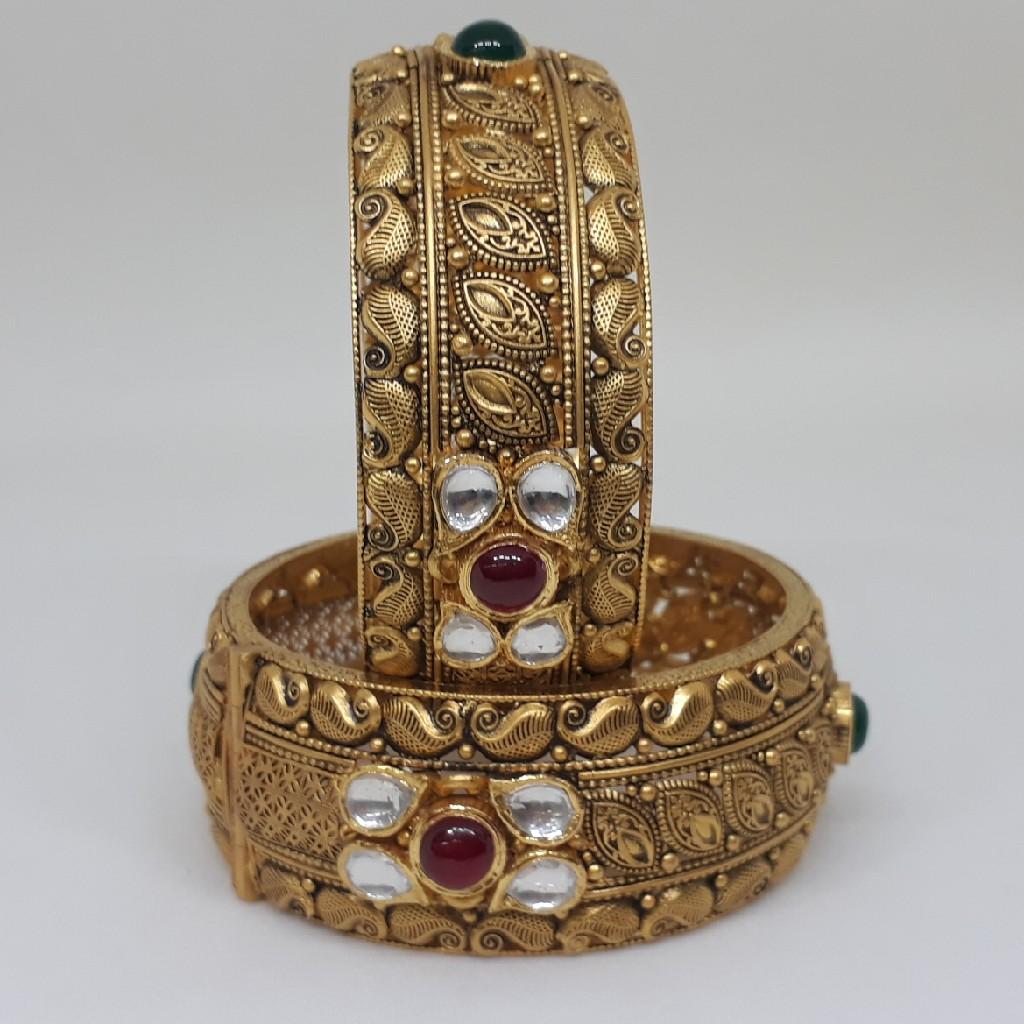 Antique Kundan  Kada bgu/25/7/148