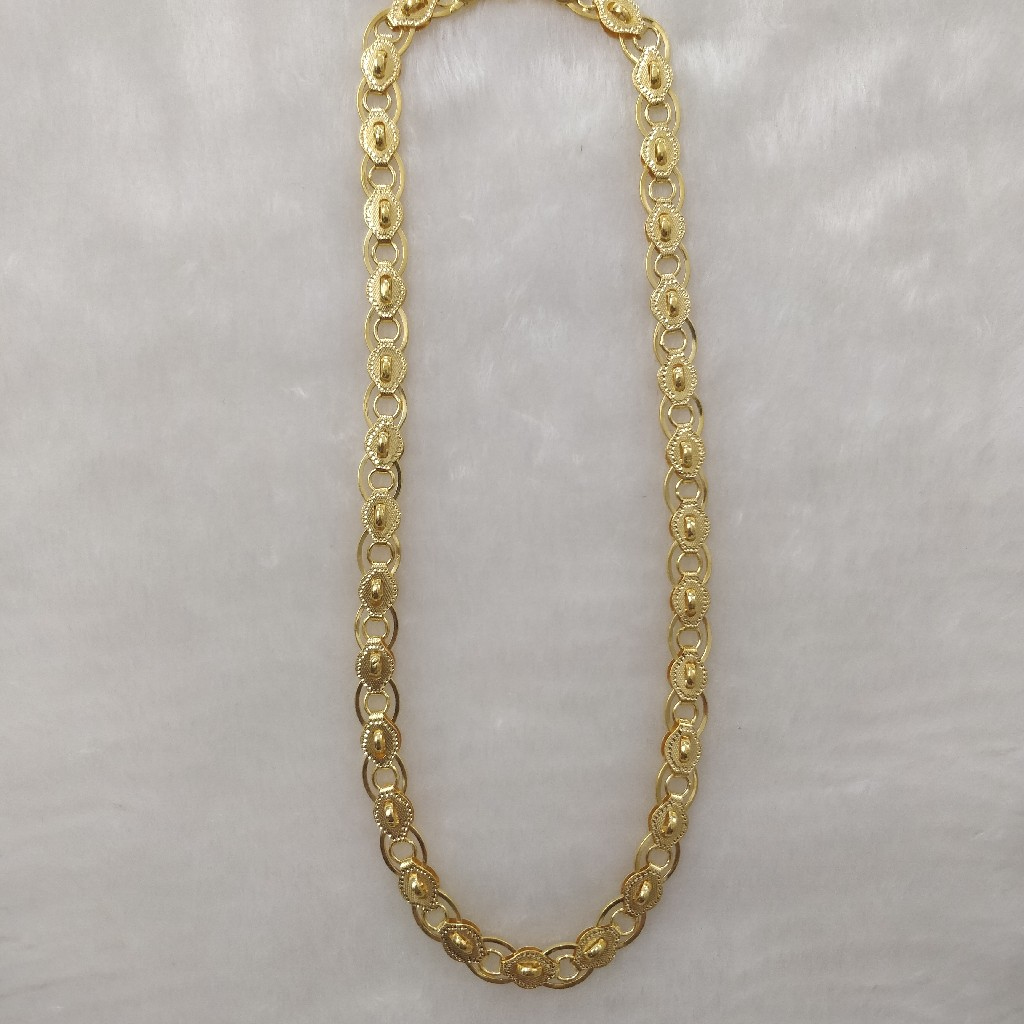 916 Gold Gent's Indo Italian Chain
