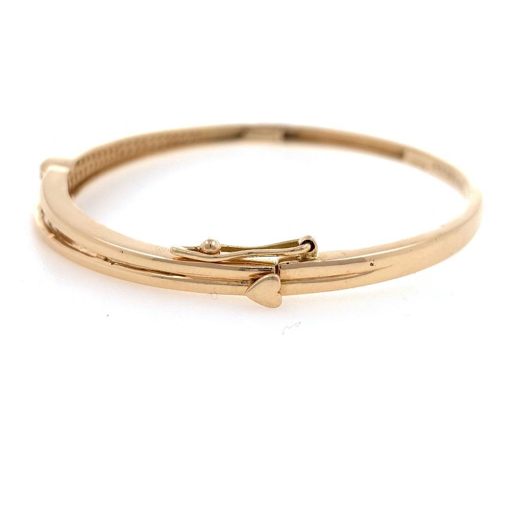 18kt / 750 rose gold eternal love diamond bracelet 8brc49