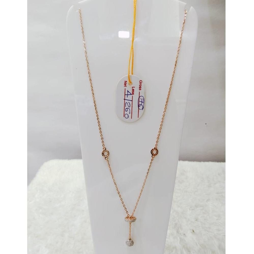 22 carat gold antique ladies mala rh-LM825