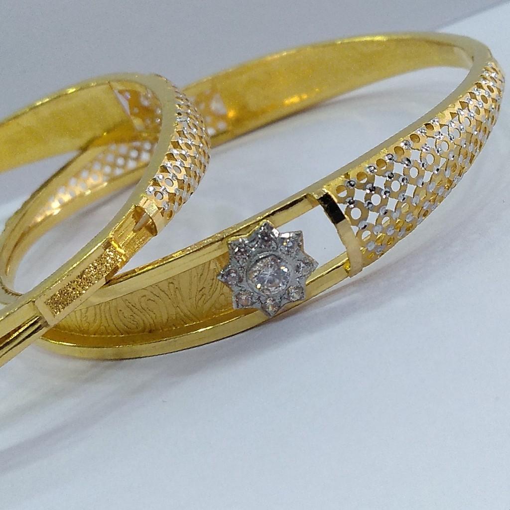 22KT/ 916 Gold fancy wedding 2-in-1 Design Cooper kadli for ladies