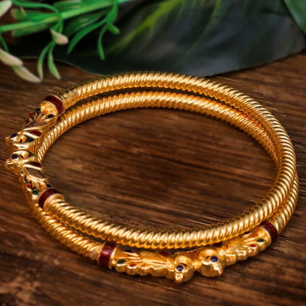 22Kt Gold Fancy Variya Copper Kadli