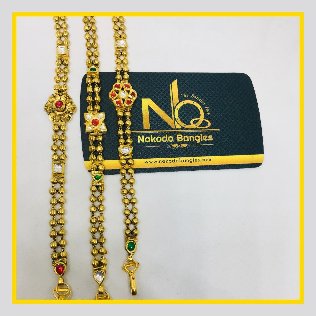 916 Gold Antique Bracelet NB - 1030