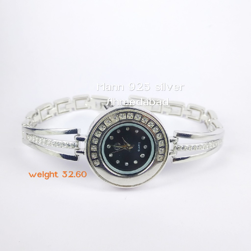 92.5 sterling silver exclusive ladies watch ml-006