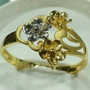 916 Gold Antique Style Ladies Ring