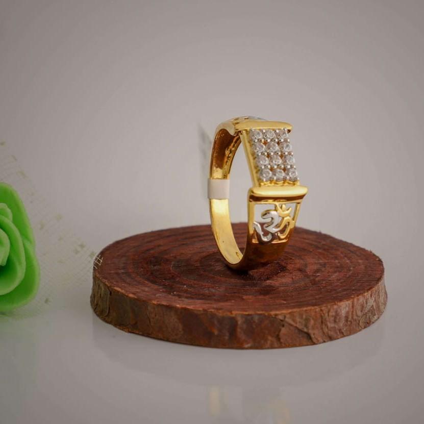 om casting Daimond fancy ring