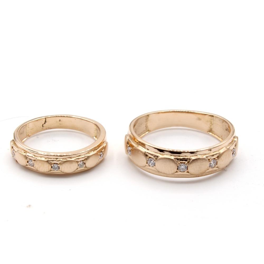916 gold stylish couple ring kv-r003