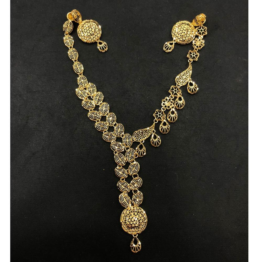 916 Gold Stylish Turkish Necklace