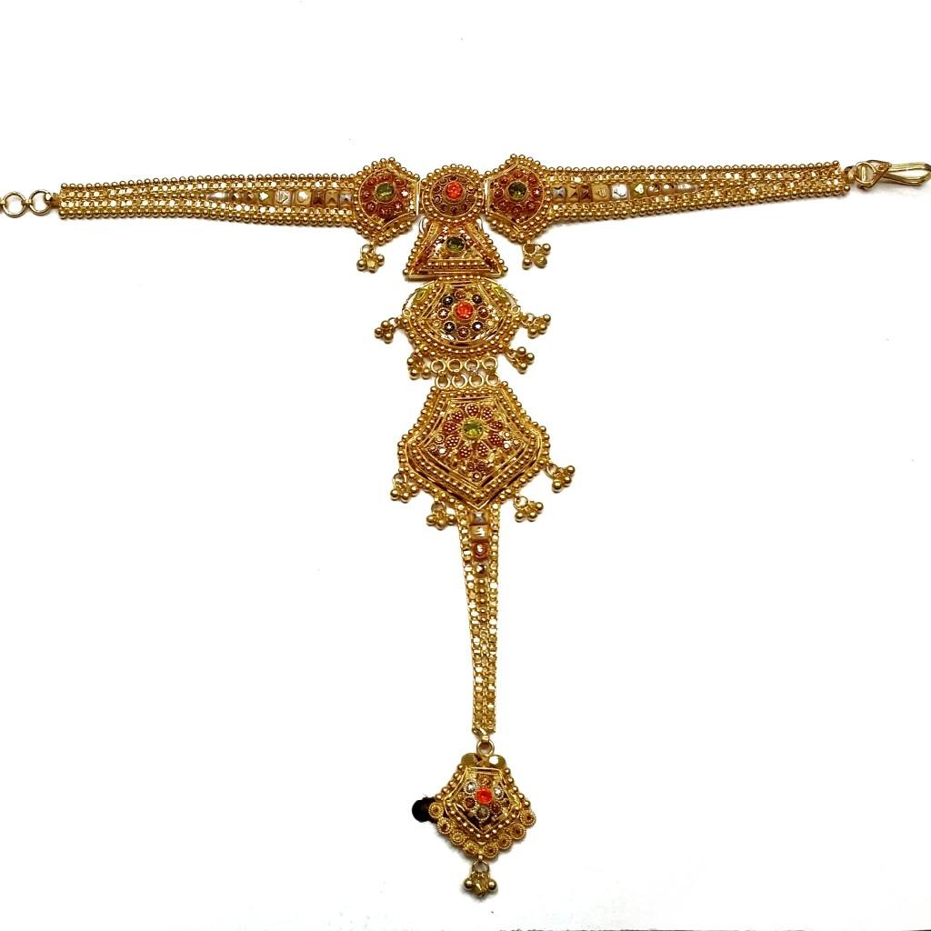 22k gold antique pocho mga - gp004