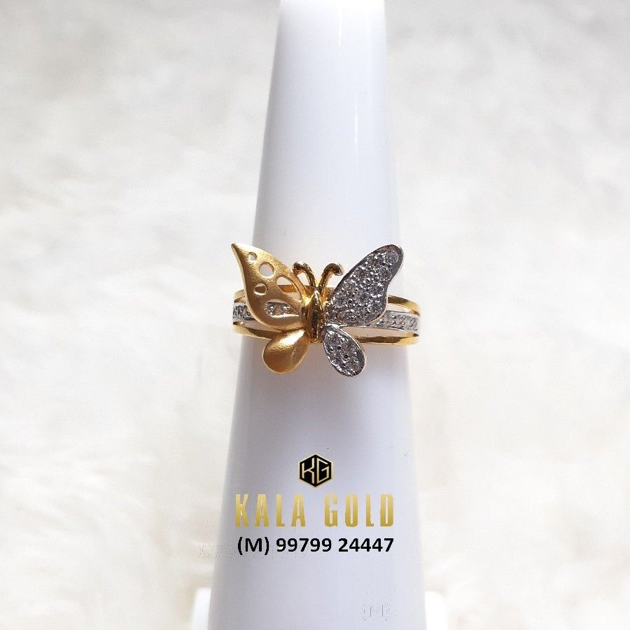 916 Butterfly Ladies Ring