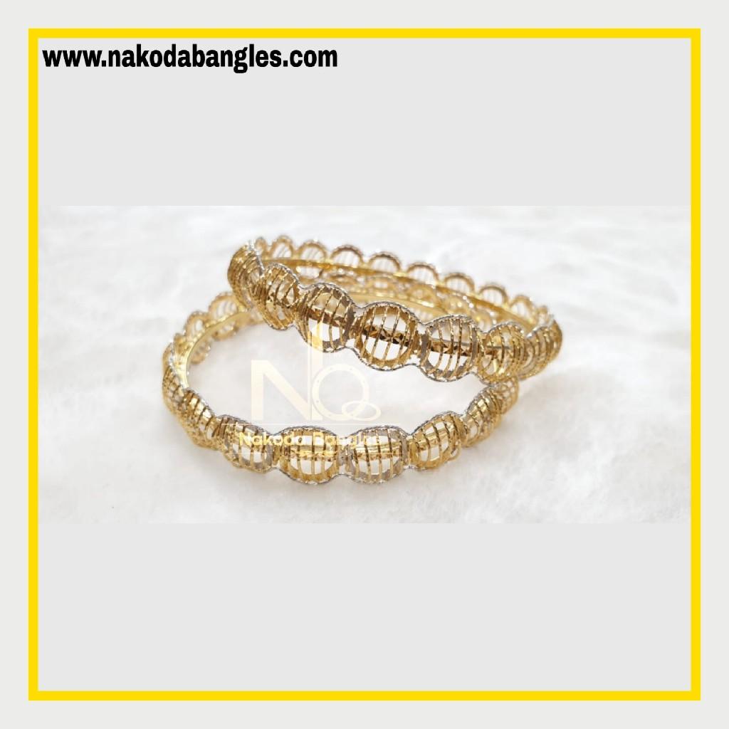 916 Gold Italian Bangles NB - 875