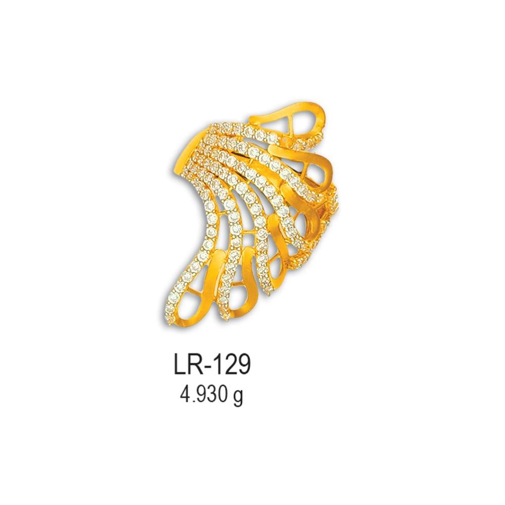 CZ-Gold-Fancy-Ladies-Ring-LR-129