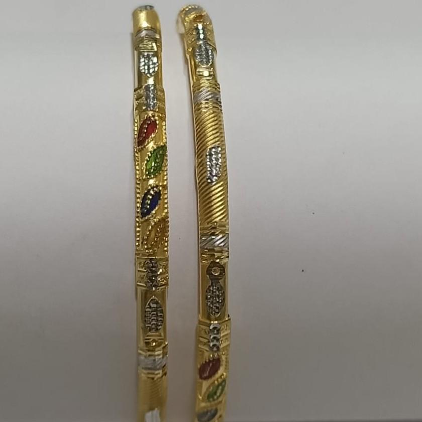 22KT Gold Hallmark Gorgeous Ghaba Kadali SG32