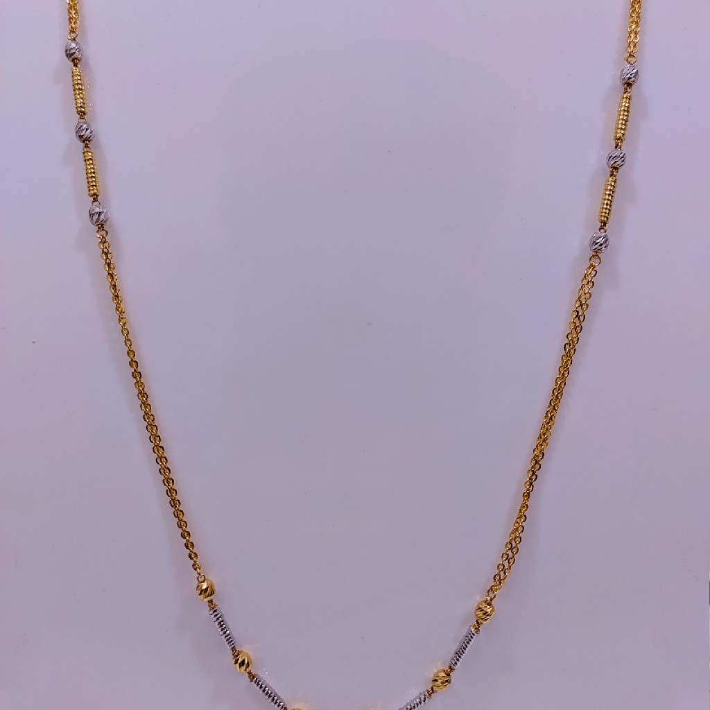 916 Gold Fancy Dokiya chain