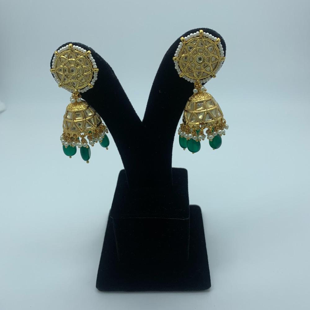 Designer Jumkha Earrings For Wedding