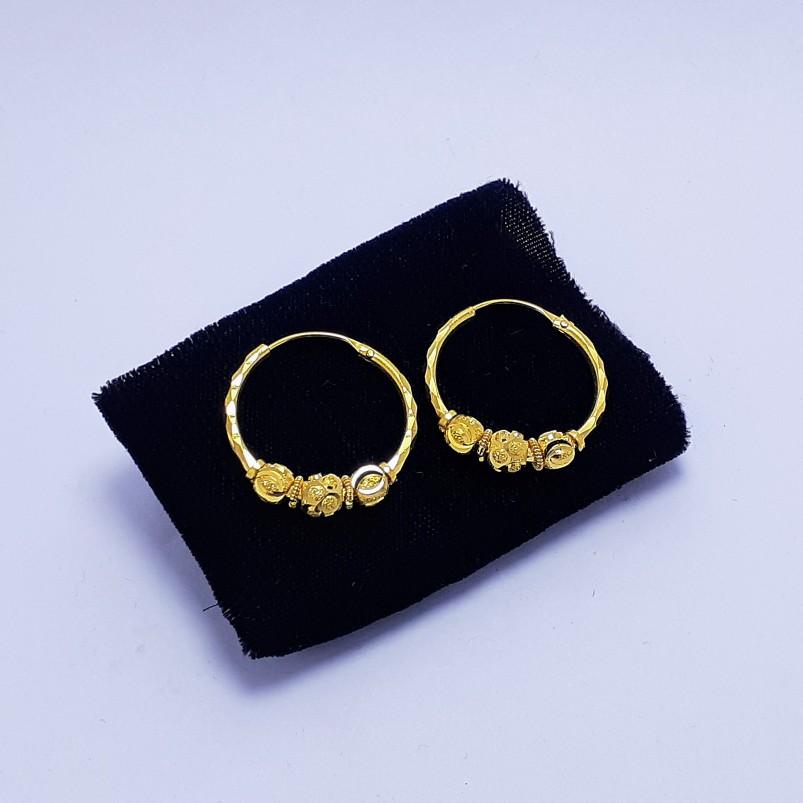 20Kt Gold Fancy Pipe Bali