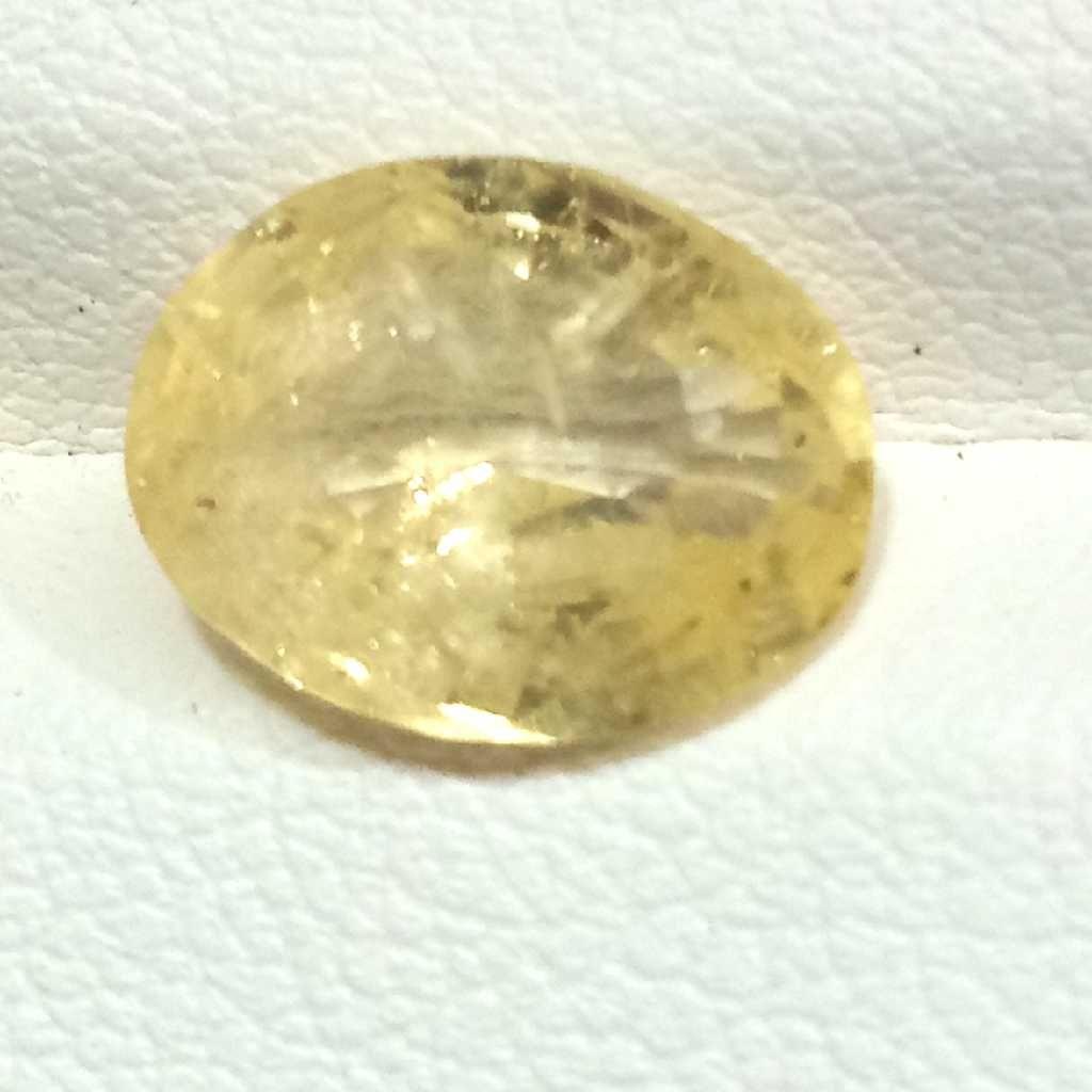 4.06ct oval yellow yellow-sapphire-pukhraj