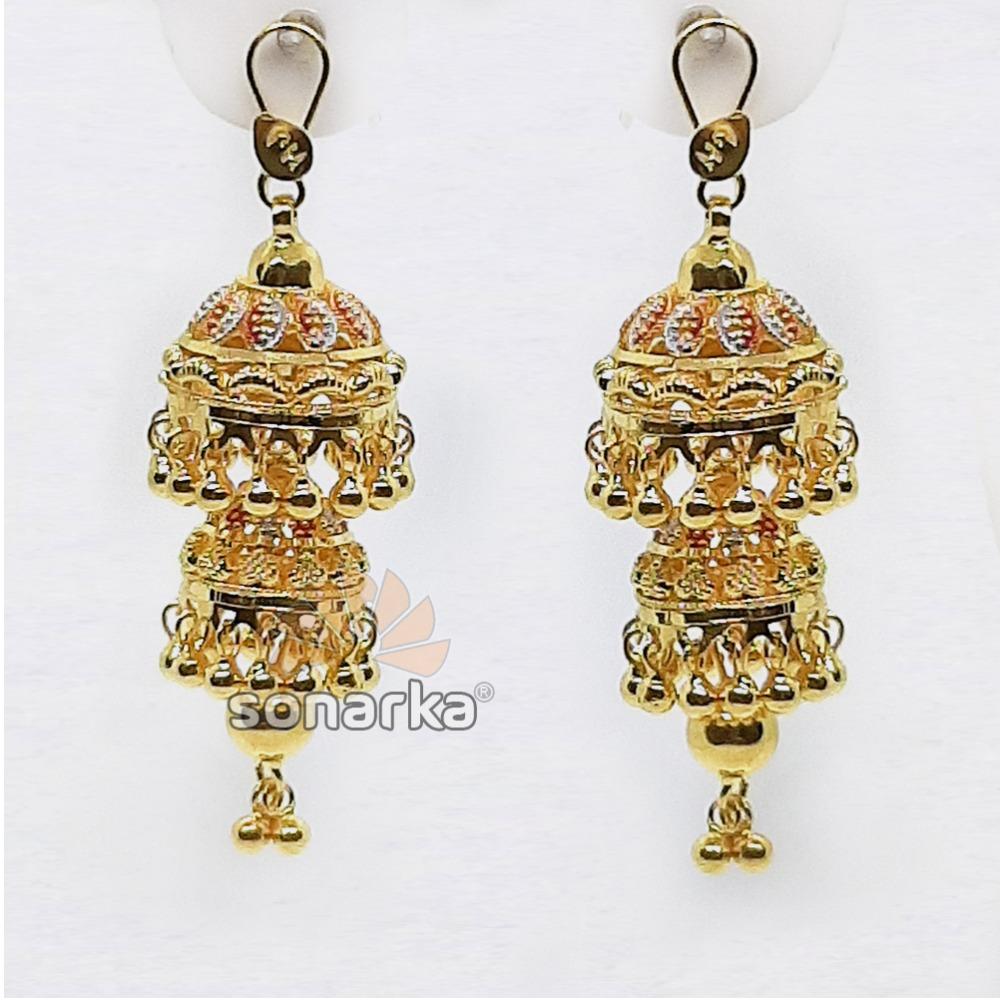 Drop Dome Jumar For Gold Earring SK - E001