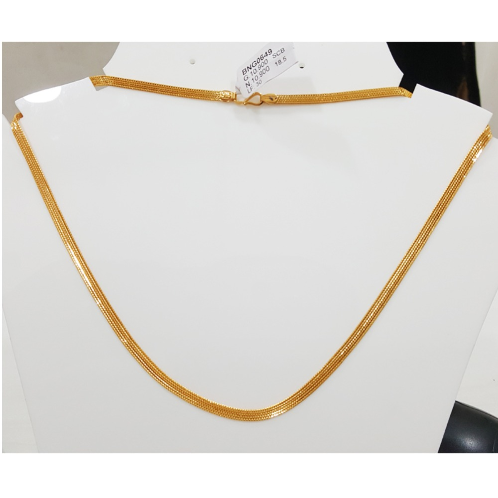 916 Gold Bombay Fancy Nice Chain