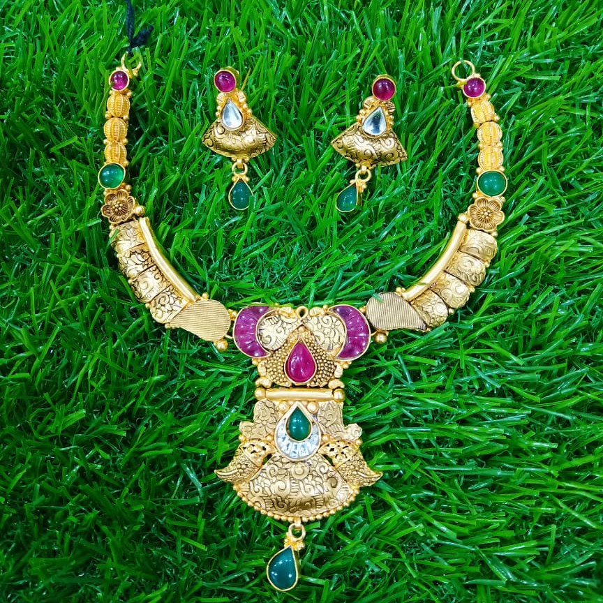 jadtar necklace set