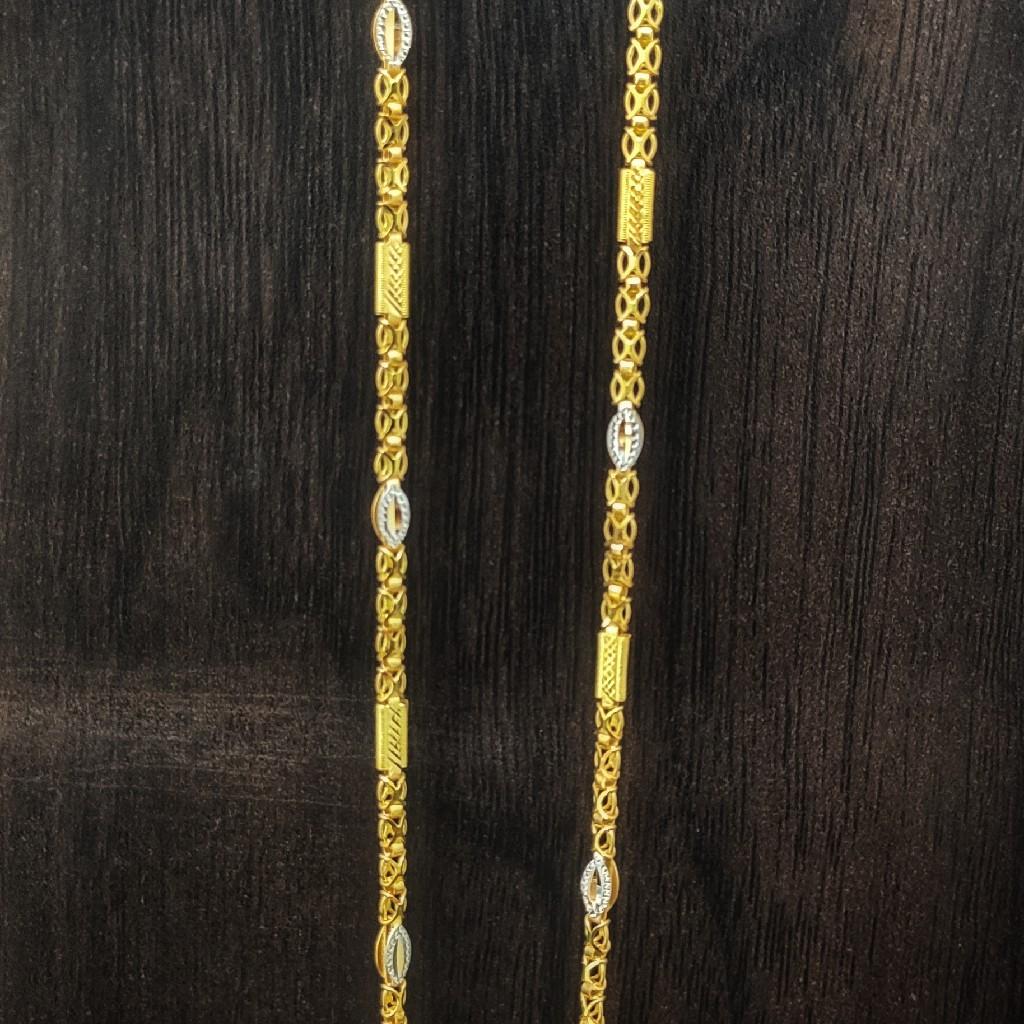 916 gold handmade chain