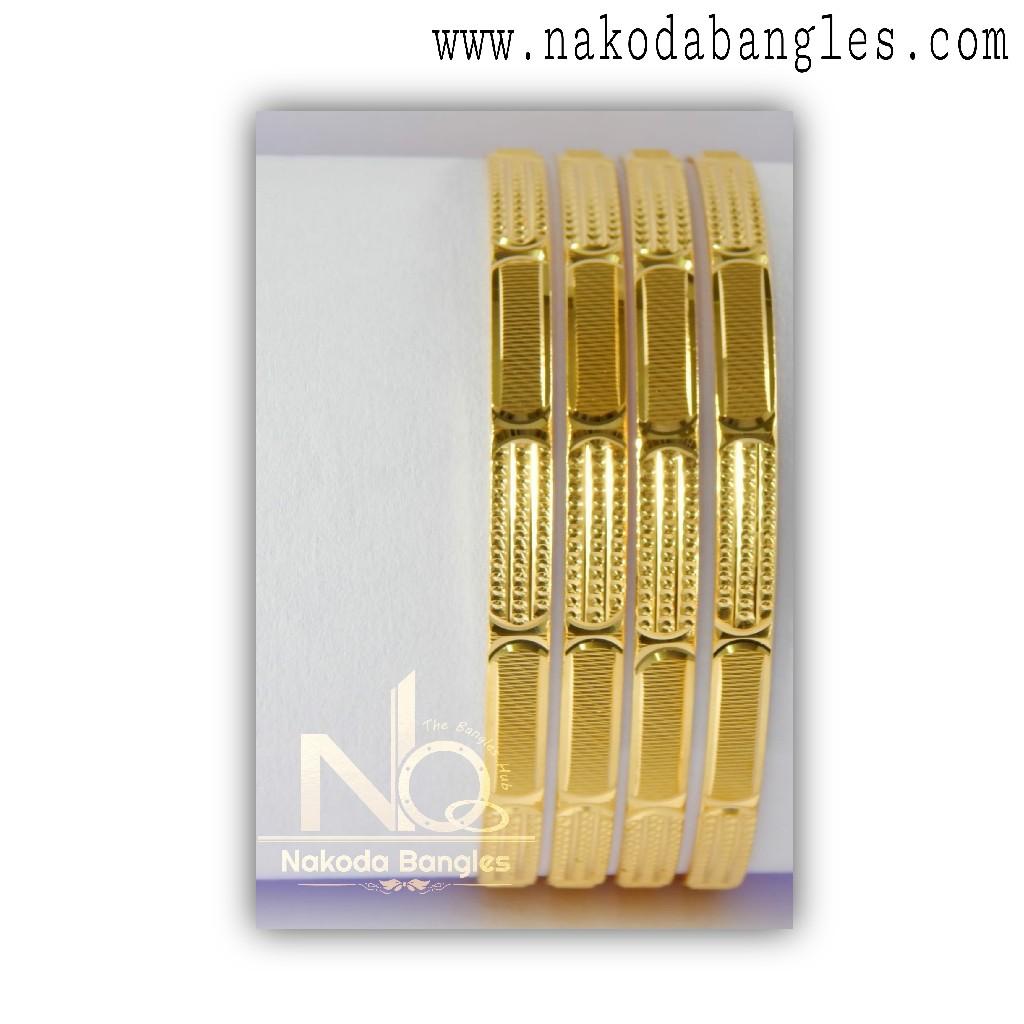 916 Gold Khilla Bangles NB - 1384