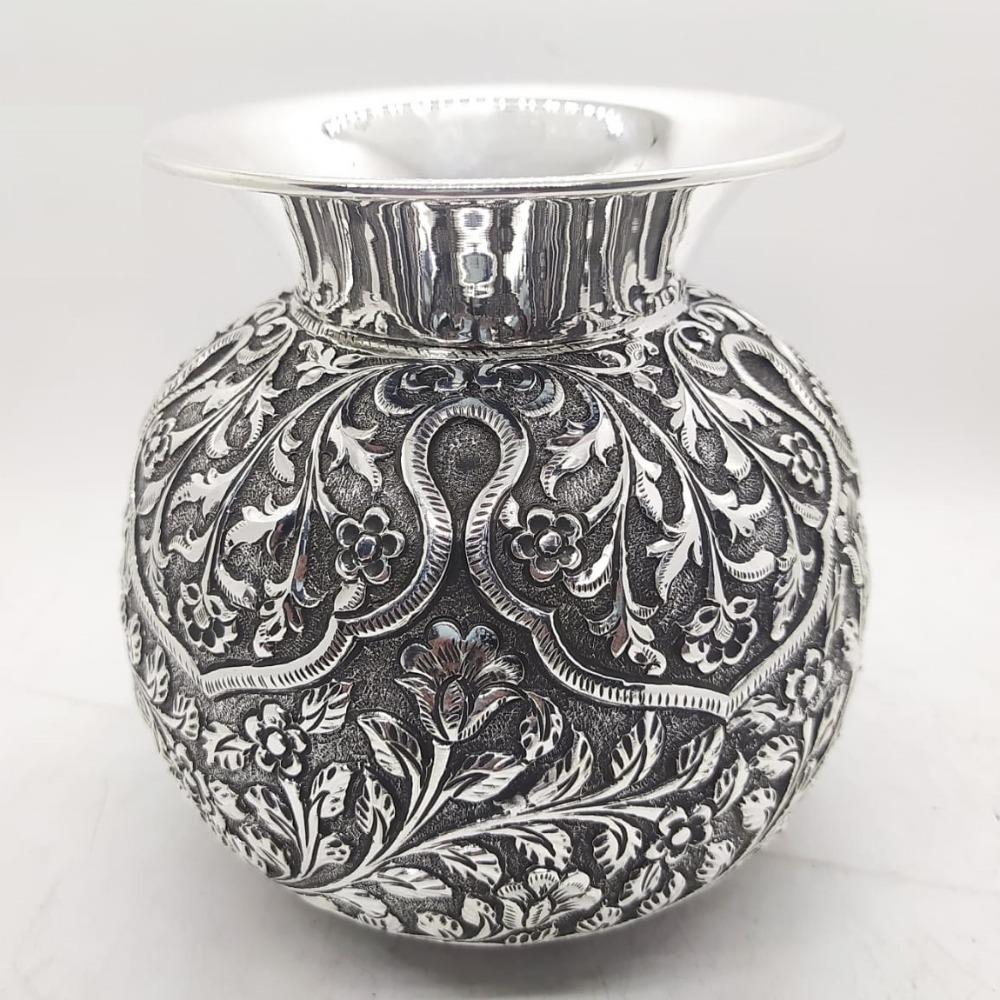 925 Pure Silver Kalash In Light Weight And fine work PO-165-20
