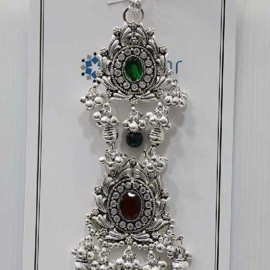 Silver Oxodised Single Hook Juda (Mekla)