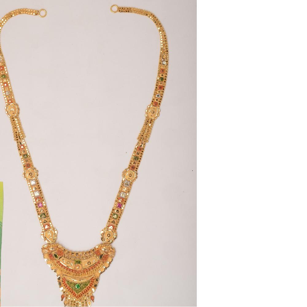 22kt Gold fancy Full Bridal Necklace