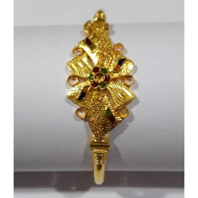 916 Antique Designer Gold Copper Bracelet