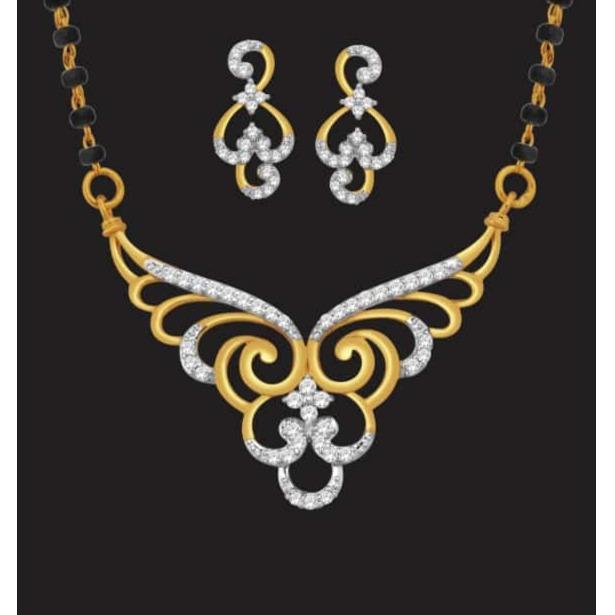 916 gold stylish mangalsutra jj-m11
