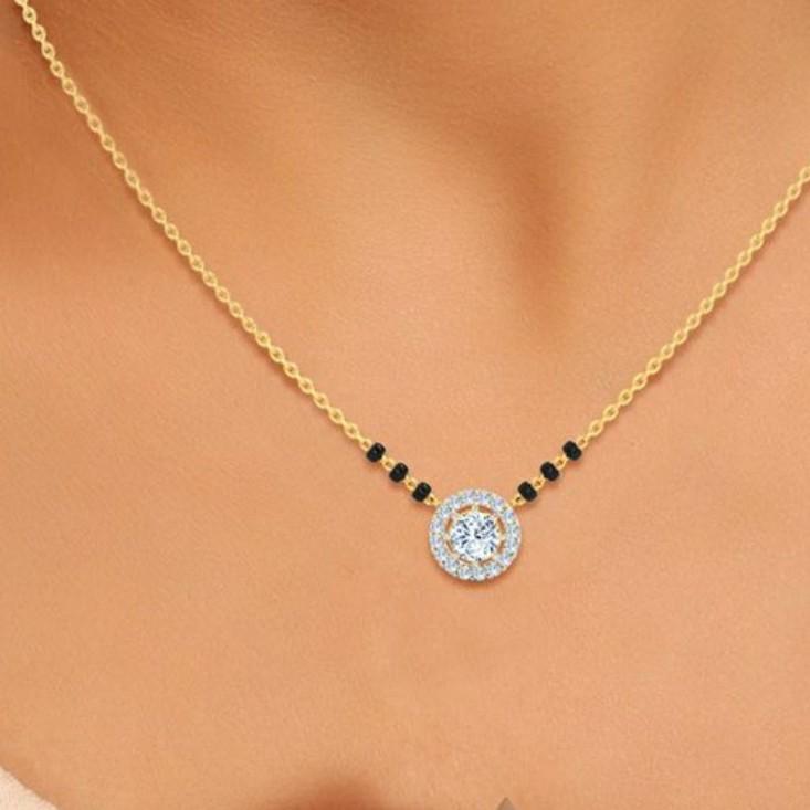 916 Gold hallmark Mangalsutra
